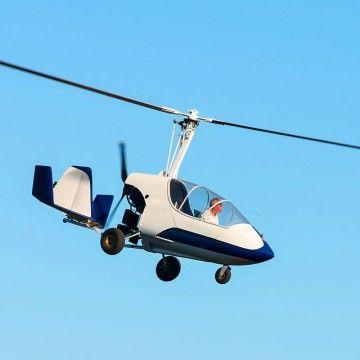 repülés gyrokopterrel avagy sétarepülés autogyroval
