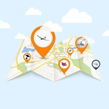 Repülés szakmai adatbázis térképes kereső