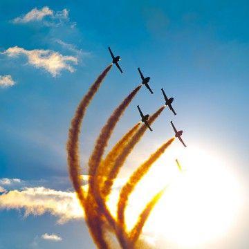 repülőnap légiparádé rendezvény, repülős program, airshow