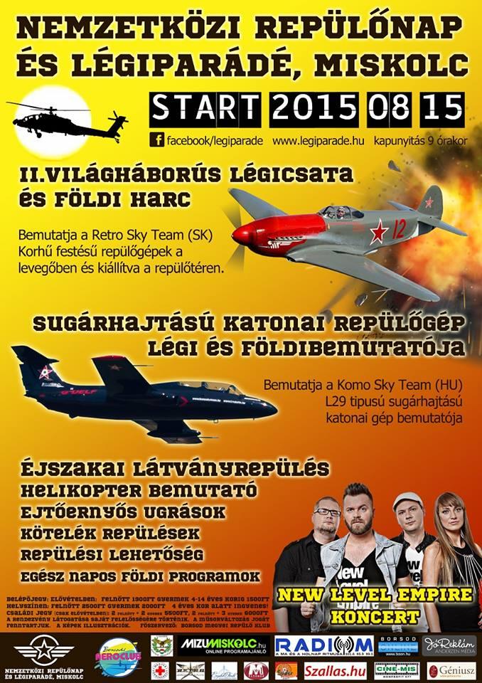 Nemzetközi repülőnap és légiparádé Mikolc