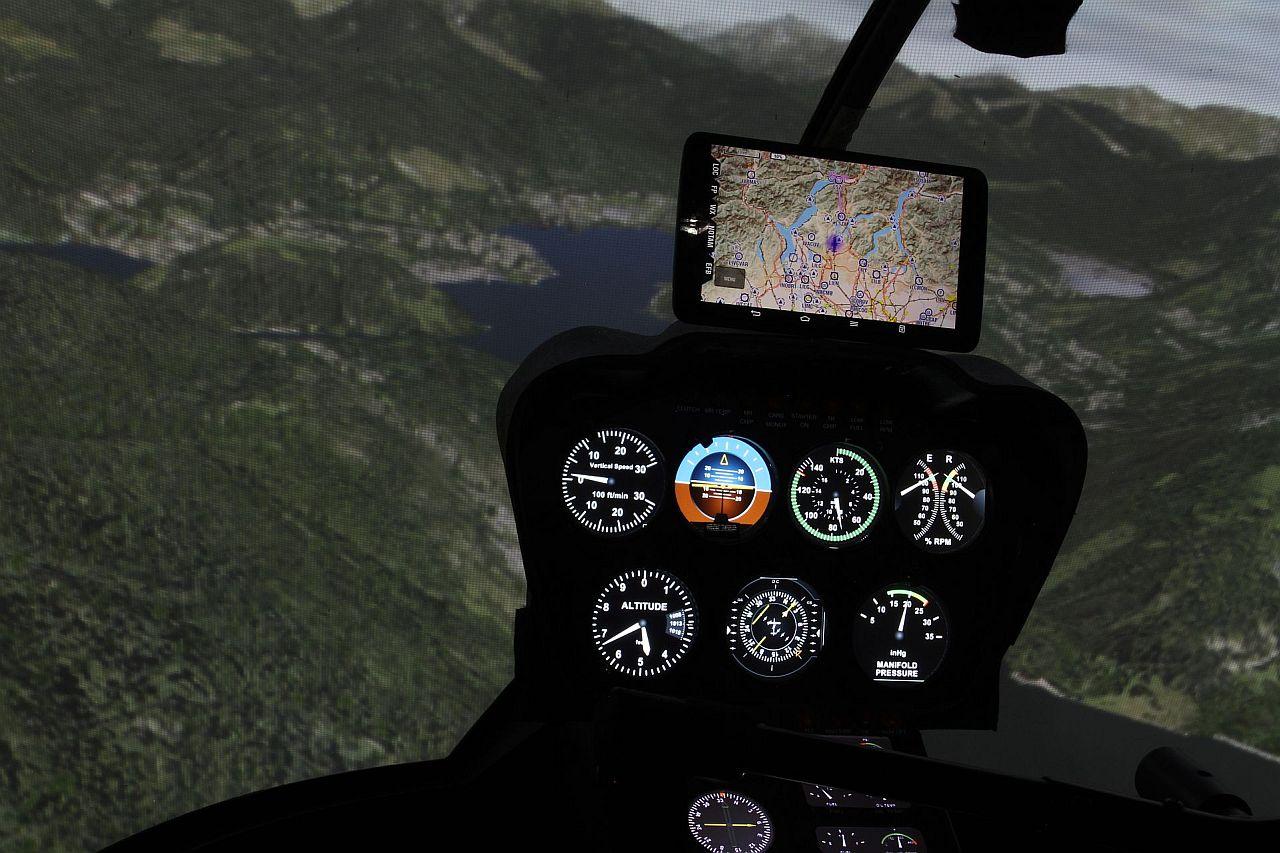 helikopter szimulátor sétarepülés