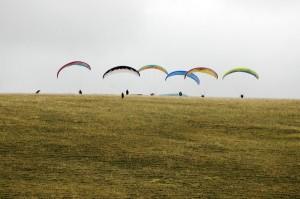 Siklóernyős kedvcsináló nap, siklóernyő, siklóernyős iskola, tandemrepülés, sétarepülés, siklóernyős tanfolyam