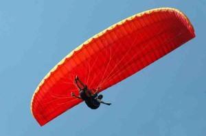 Siklóernyős kedvcsináló nap, siklóernyős iskola, siklóernyős tanfolyam, siklóernyős tandemrepülés