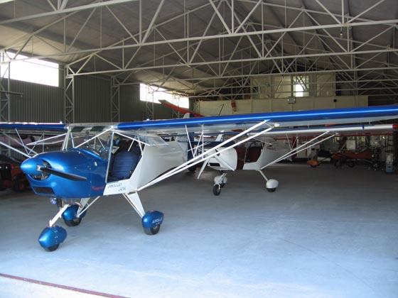 dákai repülő sportegyesület és repülőtér