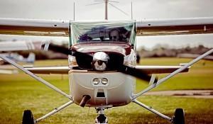 Sétarepülés Szegeden Cessna C-152