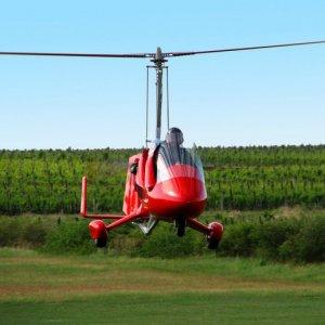 Gyrokopter autogyro Sétarepülés