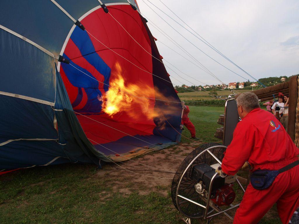 Hőlégballon Tiszai Ballon Club